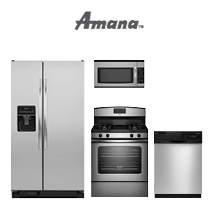 Amana Stainless Steel Kitchen