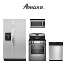Amana Stainless Steel Replacement Kitchen Package