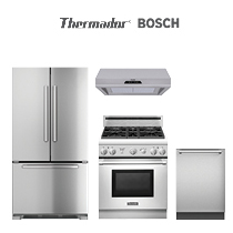 Thermador & Bosch Pro Kitchen Package